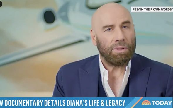 John Travolta recalled the 'storybook moment'