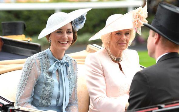 Kate sought Camilla's advice
