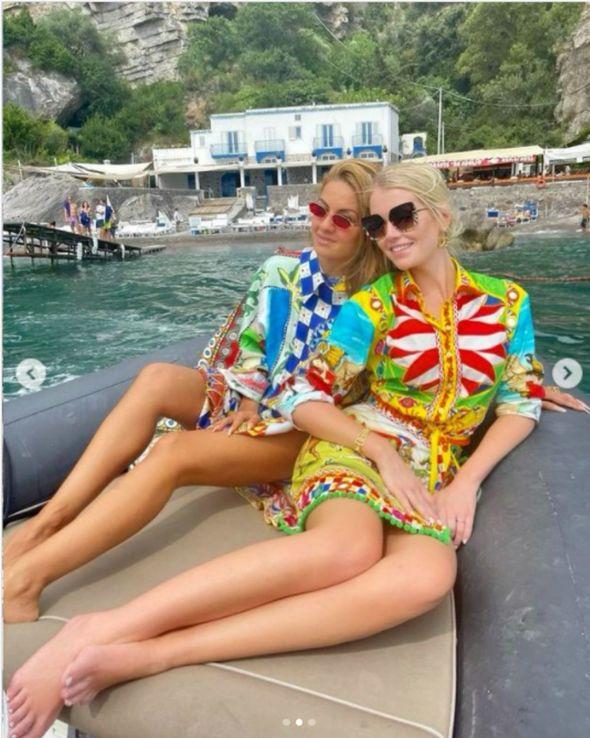 Kitty Spencer and Natasha Poonawalla