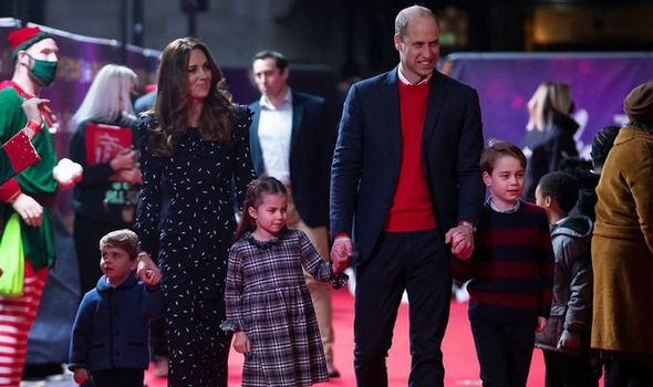 Prince George and Cambridge family