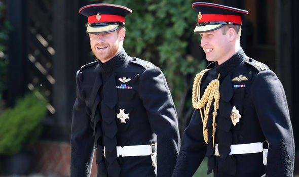 prince harry prince william royal family