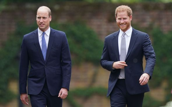 Prince Harry said they were taking 'space'