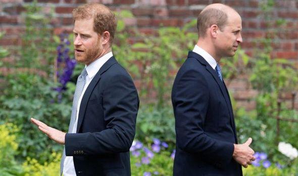 Prince William felt he had 'lost' Prince Harry