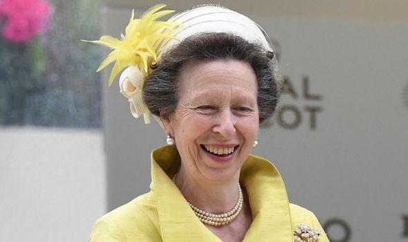 princess anne royal family