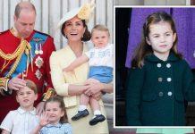 Princess Charlotte title: Royal Family