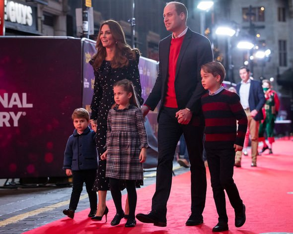Princess Charlotte title: The Cambridge family