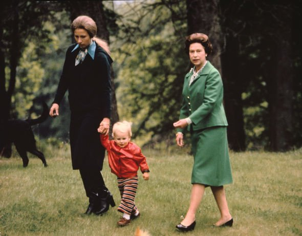 The Queen, Princess Anne and Zara Phillips