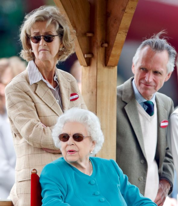 queen with penelope knatchbull latest