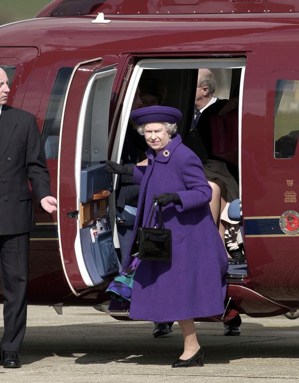 queen news queen helicopter emergency technical fault princess anne balmoral royal news