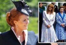 Sarah Ferguson and the Queen