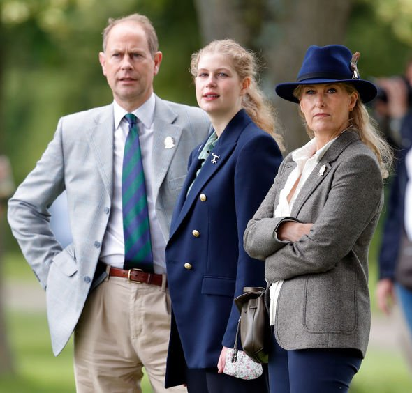 sophie wessex prince edward children lady louise james balmoral castle queen guests news