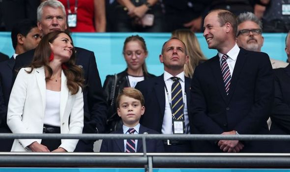 William and Kate to speak with George about show