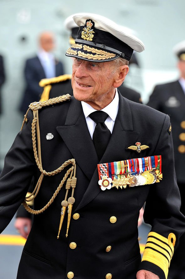the late prince philip