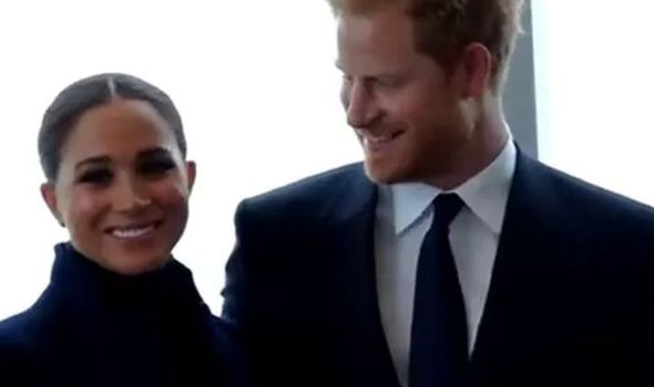 Meghan and Harry in New York