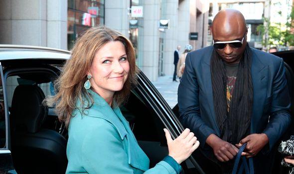 Norway's Princess Märtha Louise and her partner Durek Verrett