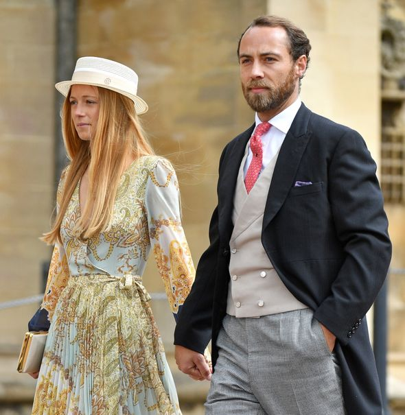 James Middleton and Alizee Thevent
