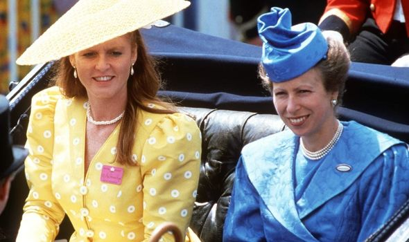 Anne and Fergie