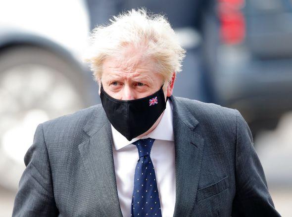 Boris Johnson (pictured)