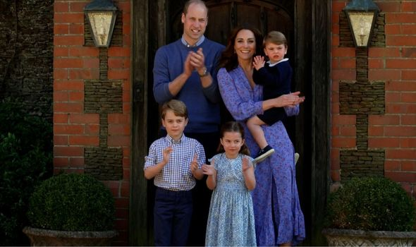 Picture of the Cambridges