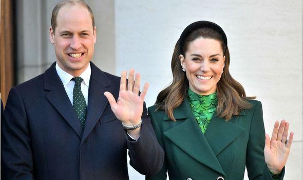 Cambridges: William and Kate in Ireland last year