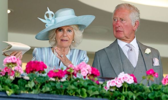 Picture of Charles and Camilla