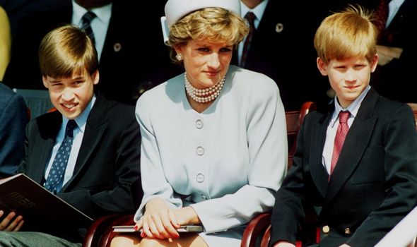 Diana and her two children