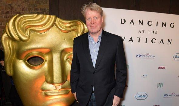 Earl Spencer at the BAFTA