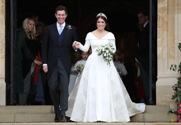 Eugenie and husband Jack