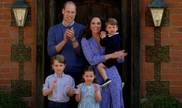 Family: Kate, William, George, Charlotte and Louis