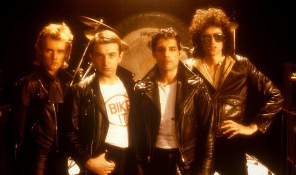 Freddie Mercury fronted Queen until his death