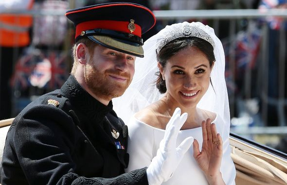 Harry and Meghan wedding in 2018