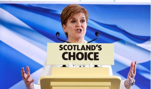 Independence: Nicola Sturgeon made it SNP priority