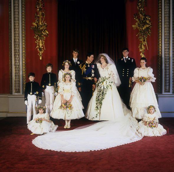 India Hicks at Princess Diana's wedding
