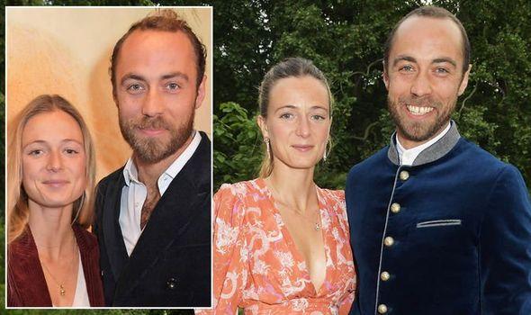 James Middleton wedding: Royals