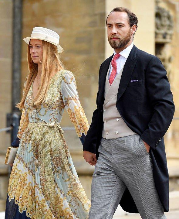 James Middleton wedding: Couple