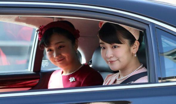 Picture of Princess Mako and Princess Kako
