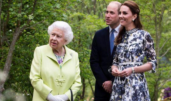Kate: Duchess designed Chelsea garden in 2019