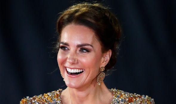 Kate, Duchess of Cambridge at James Bond premiere