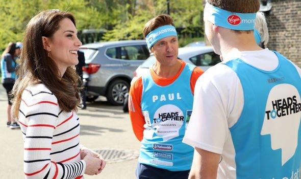 Kate Middleton at London Marathon