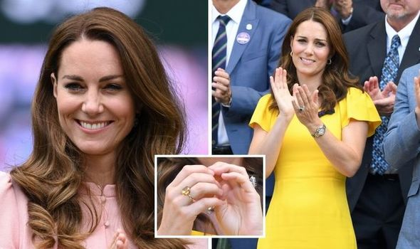 Kate Middleton makes 'statement' with 'rare' citrine ring - and it's worth £25,000