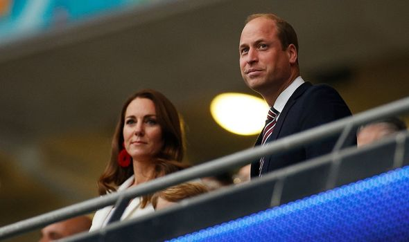Kate: With William at World Cup Final at Wembley
