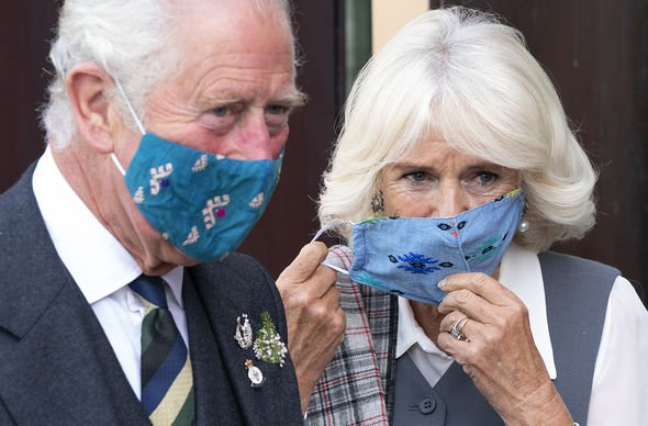 The Prince of Wales and the Duchess of Cornwall during a visit to officially open the redeveloped Aberdeen Art Gallery, Schoolhill: Tuesday September