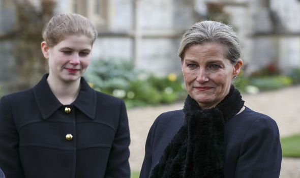 Lady Louise and Sophie Wessex