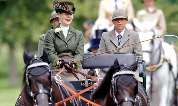 Lady Louise was gifted Prince Philip's ponies.