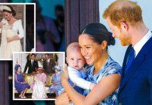 Lilibet Diana christening