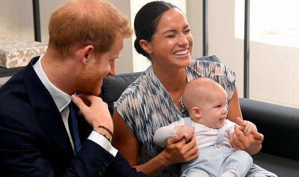 Lilibet Diana christening: Prince Harry Archie Meghan Markle