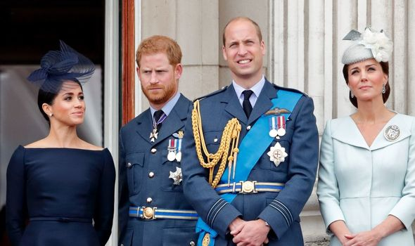 Royal Family tense