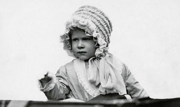 Queen as a child