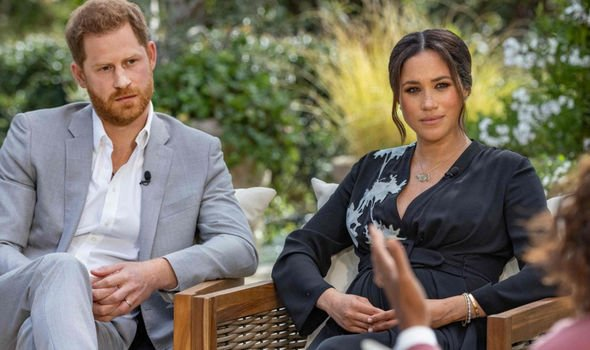 Meghan and Harry Oprah interview