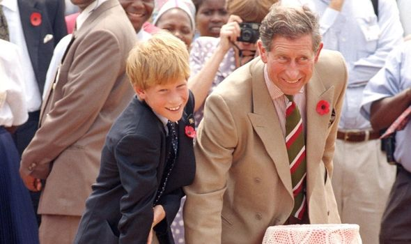 Charles and Harry